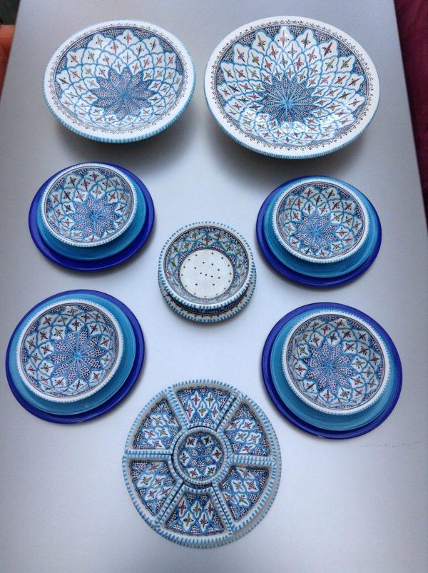 Turquoise Blue Fine servies