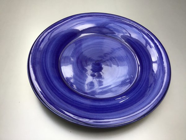Uni bord Donkerblauw 24 cm