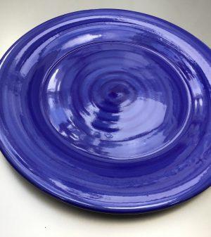 Uni bord Donkerblauw 28 cm