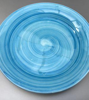 Uni bord Lichtblauw 20 cm