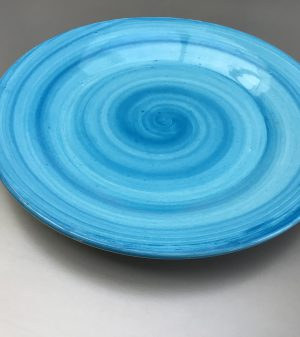 Uni bord Lichtblauw 28 cm