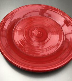 Uni bord Rood 24 cm