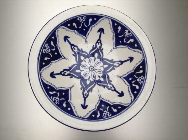 Blue Fond Saladeschaal