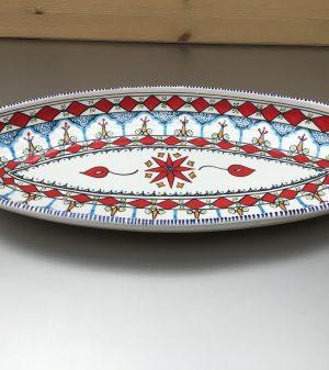 Mehari Ovale schaal 50 cm