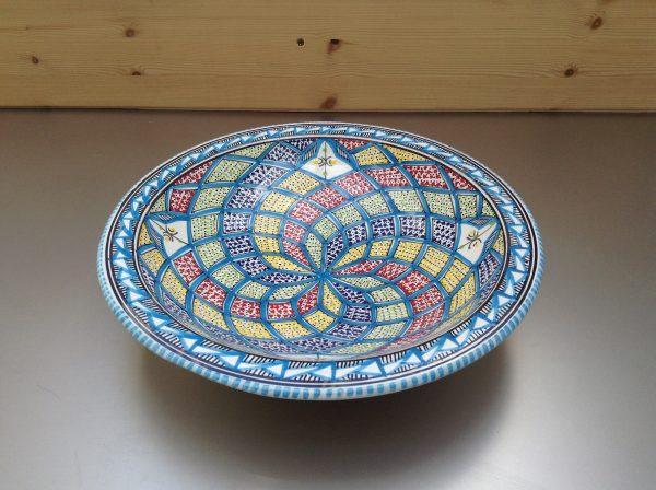 Turquoise Blue Saladeschaal 30 cm