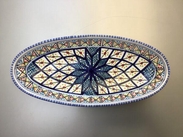 Shebka ovale schaal 30 cm