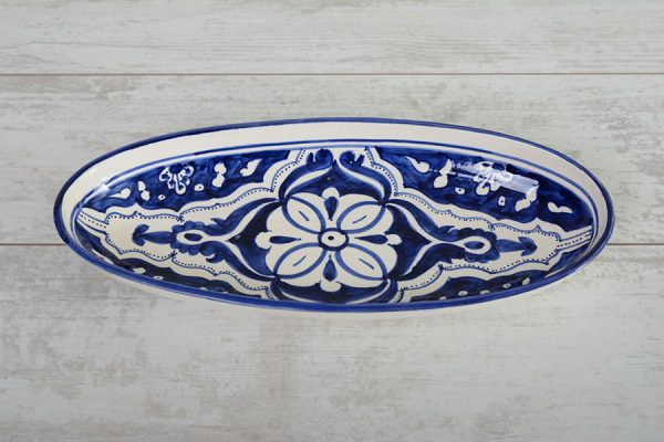 blue-fond-ovale-schaal-40 cm