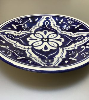 Blue Fond bord 24 cm