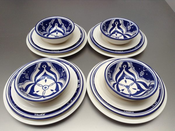 Blue Fond set