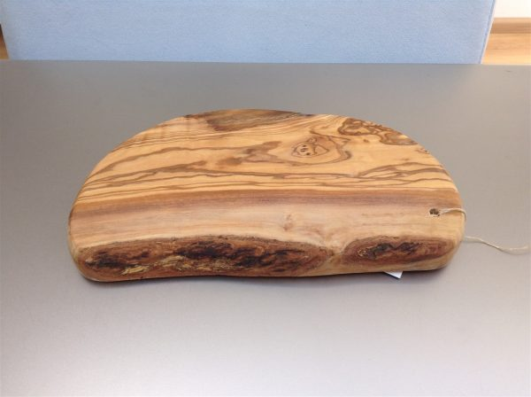 Olijfhouten plank 25 cm