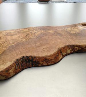 olijfhouten plank 50 cm