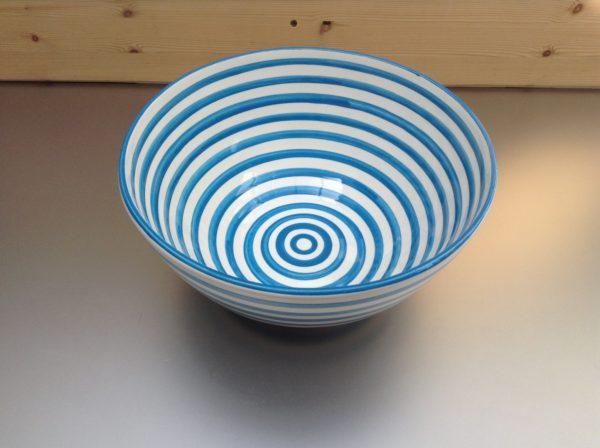 Bretons Blue Fine Saladekom 30 cm