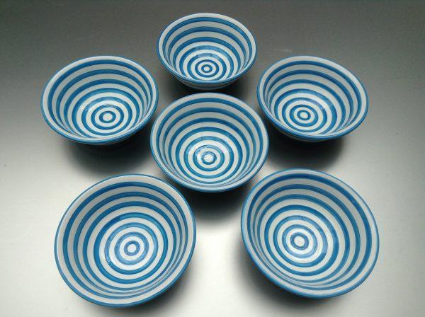 Bretons Blue Fine Saladier 15 cm