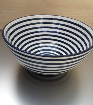 Bretons Navy Blue Saladekom 30 cm