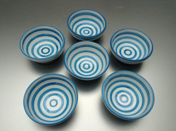 Bretons Blue Fine schaaltje 10 cm