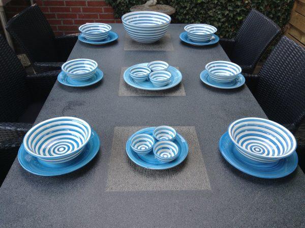 Bretons Blue Fine schaaltje 6 cm