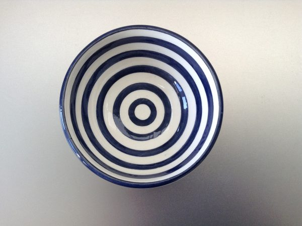 Bretons Navy Blue schaaltje 10 cm