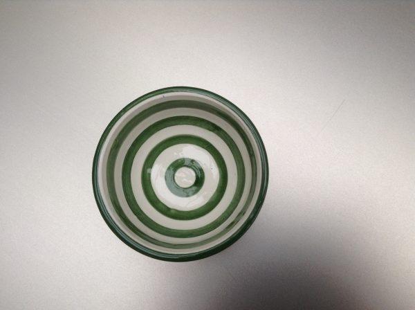 Bretons Bladgroen schaaltje 6 cm
