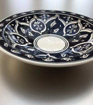 Midnight Blue Saladeschaal 30 cm