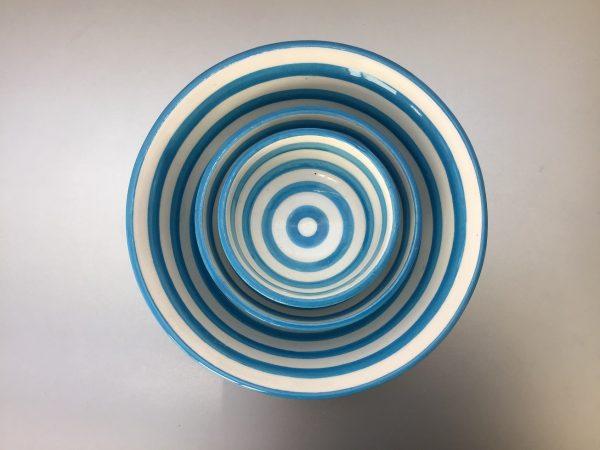 Bretons Blue Fine schalen set