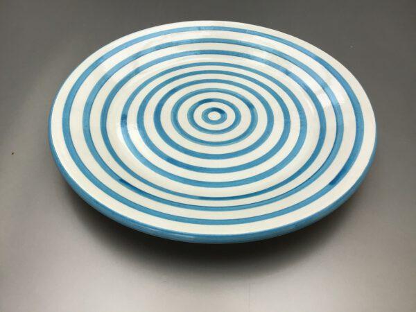Bretons Blue Fine bord 24 cm