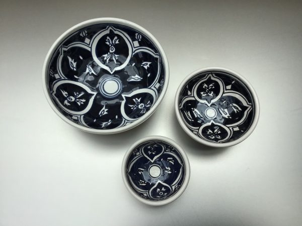 Midnight Blue schalen-set