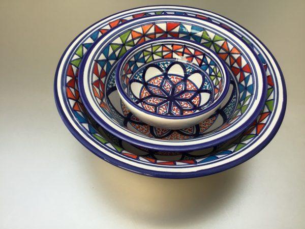 Naoura Schalen set 10-20 cm