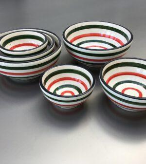Bretons Italian schalenset 12 - 10 - 6 cm