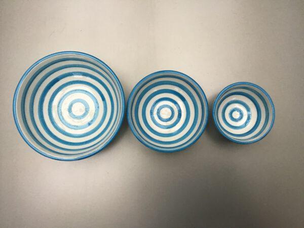 Bretons Blue Fine nestje 6-10-12 cm