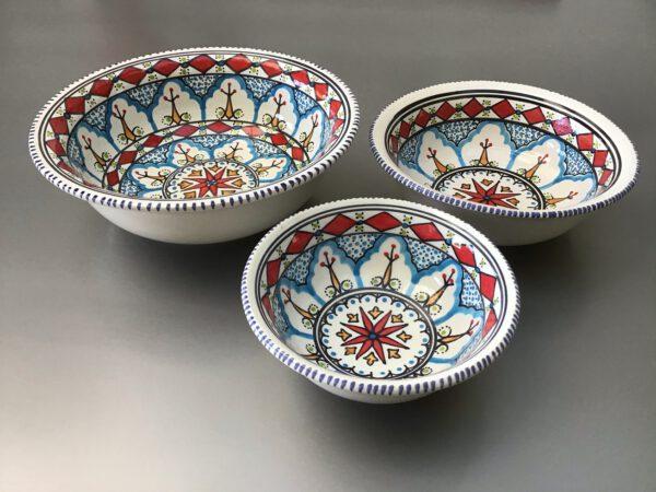 Saladier set 15-20-25 cm