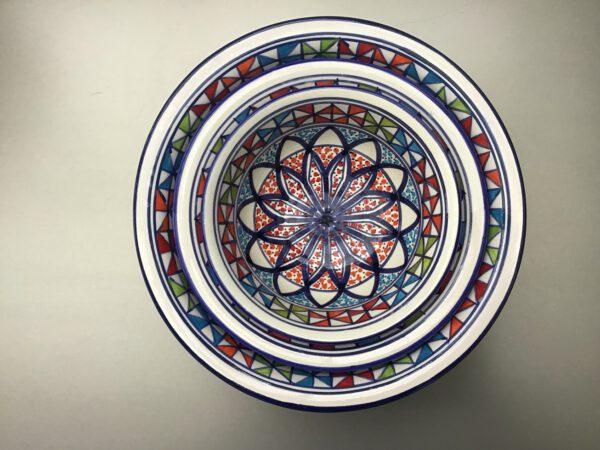 Naoura Saladier set 15-20-25 cm